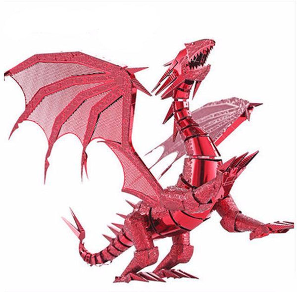 Cool 3D Metal Puzzle Dragon * 2 Colors* (PENDING)