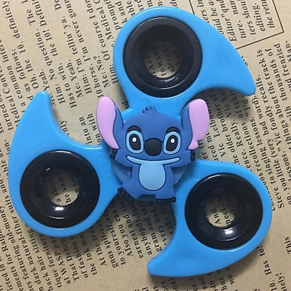 Cute Cartoon Fidget Spinner with *12 Cartoons*