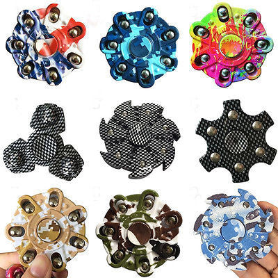Fancy Designer Fidget Spinners *9 Variants*
