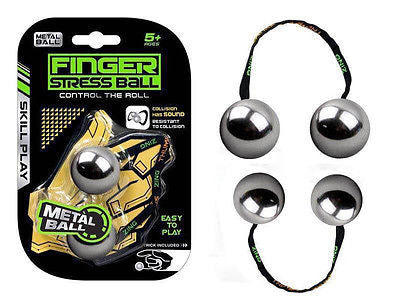 Metal Finger Stress Ball *Belt in Random Color*