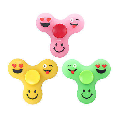 Luminous Fun Emoji Fidget Spinner