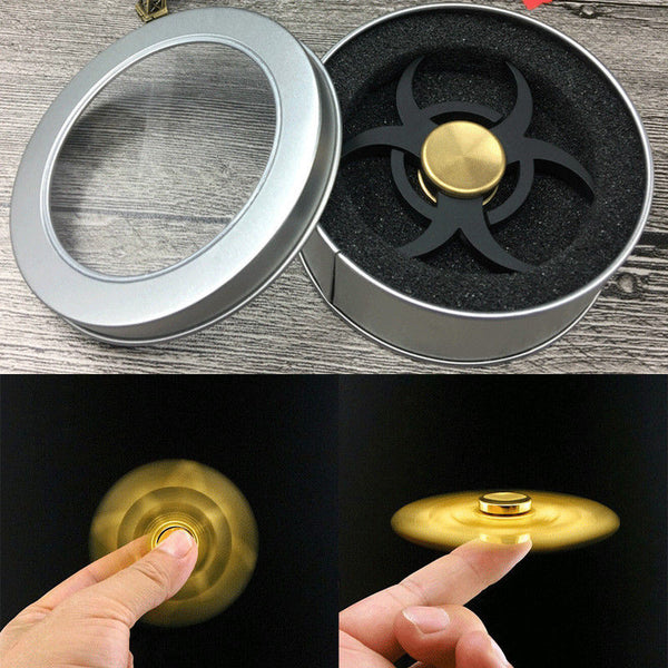 Power Black Sharp Curve Fidget Spinner