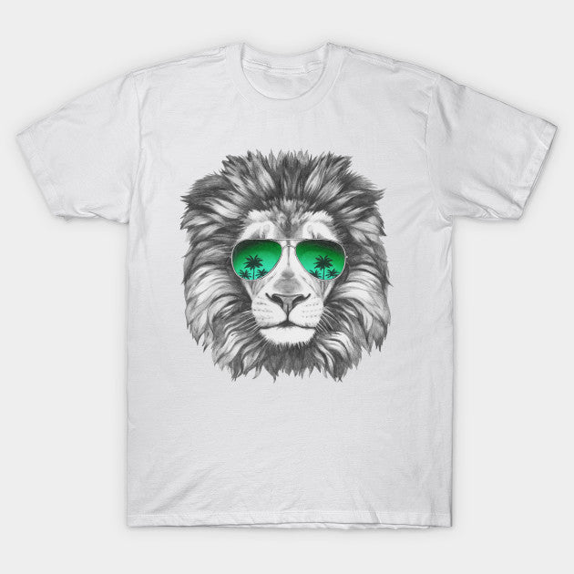 Fashion Graphic Tee - Miami Lion