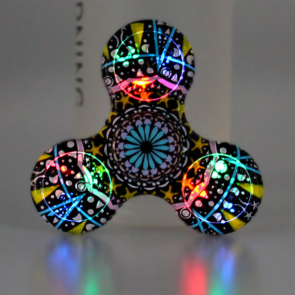 Amazing LED Fidget Spinner with *6 Unique Patterns*