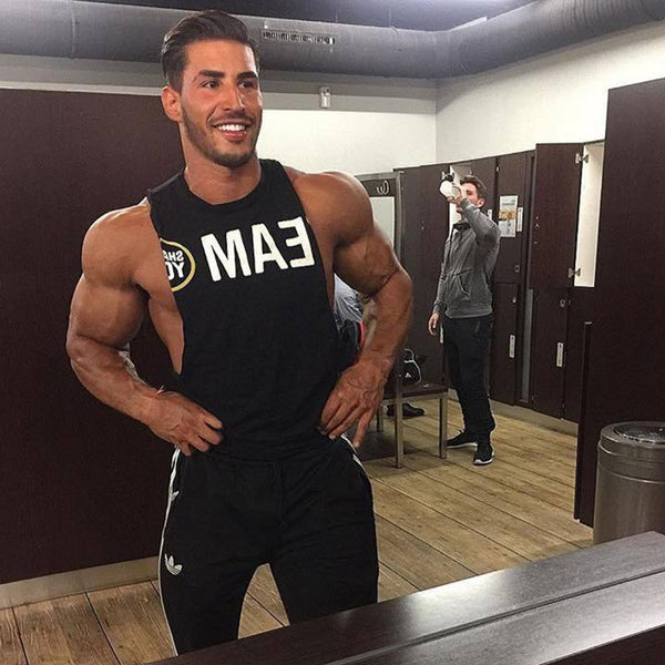 Team Body Building Sexy Tank Tops for Men