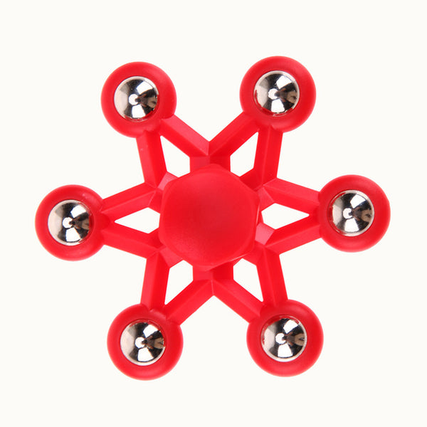 Super Star Hexagram Fidget Spinner *4 Colors*