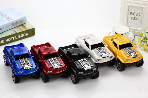 Unique Truck Bluetooth Speaker *5 Colors*