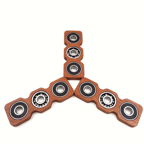Unique Wooden Duo-Spinner