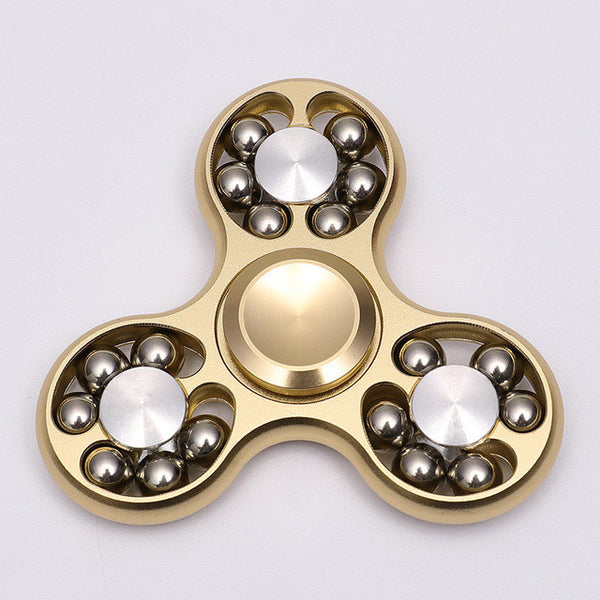 High Speed Metallic Ball Tri-Spinner *6 Colors*
