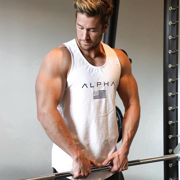 sale sold out alpha body building tank tops for men 7 colors