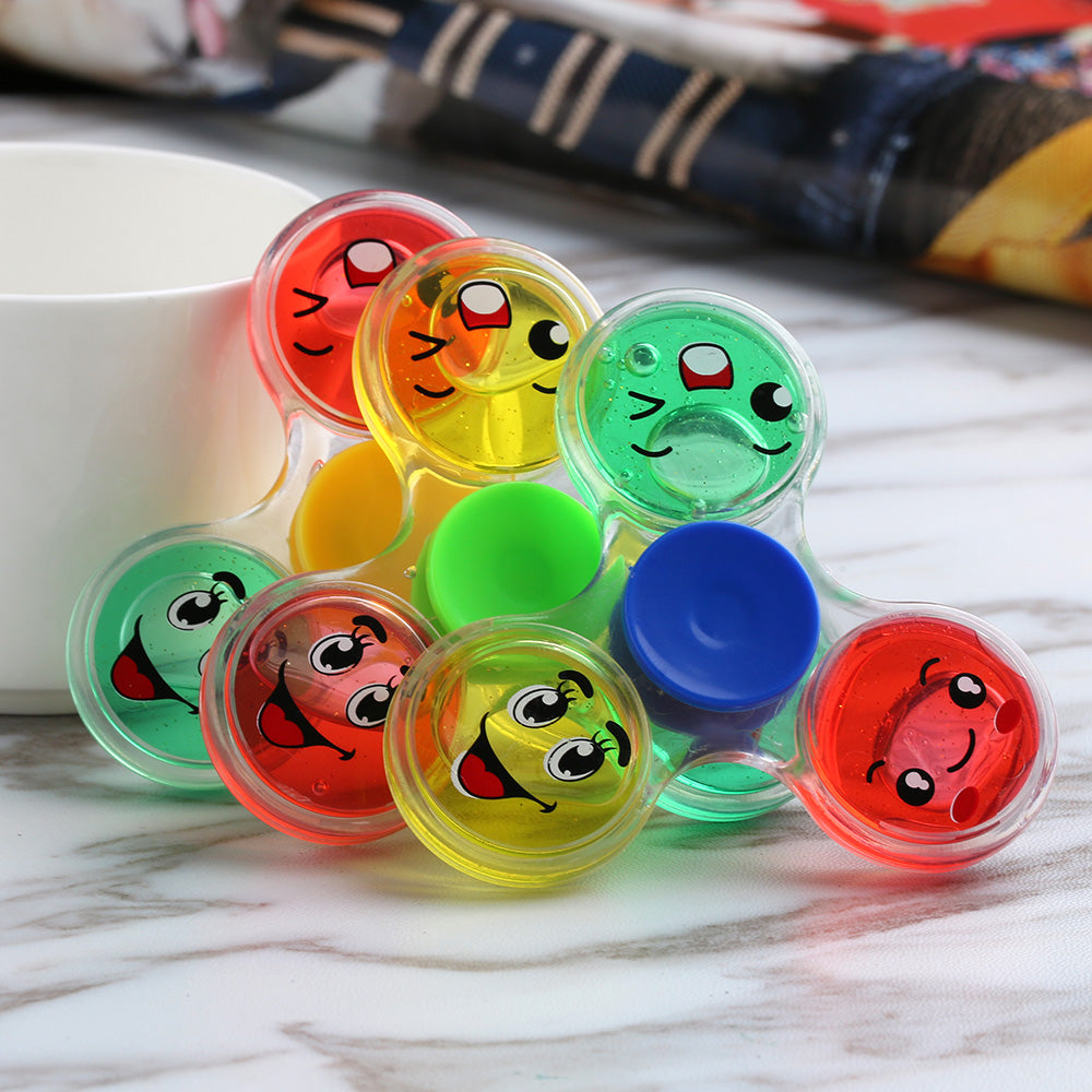 Cute Colorful Emoji Fidget Spinner *Random Color*
