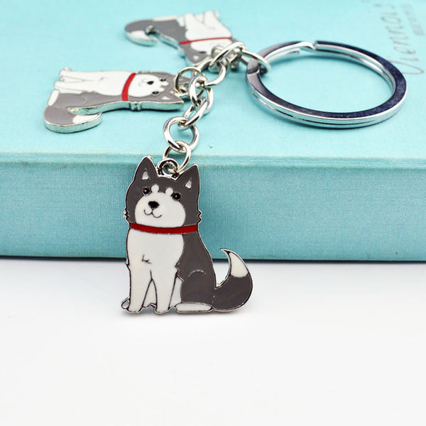 Key Chains for Dog Lovers - Alaskan Malamute *14 Variants*