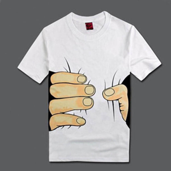 Fashion Graphic Tee - Waist Grip