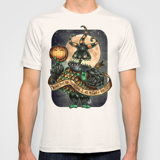 Fashion Graphic Tee - Halloween Monster