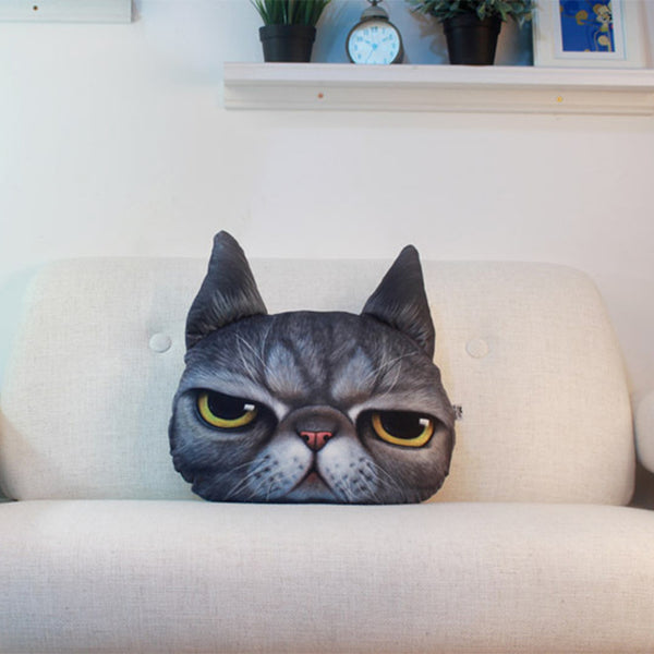 Creative Cat 3D Pillow Cushion *5 Variants*