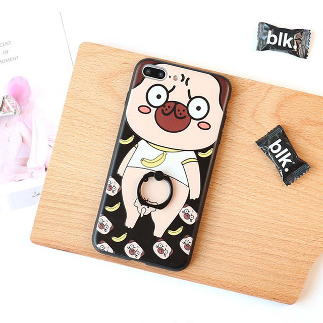 Couple Phone Covers for Dog Lovers - Funny Dog *2 Colors*