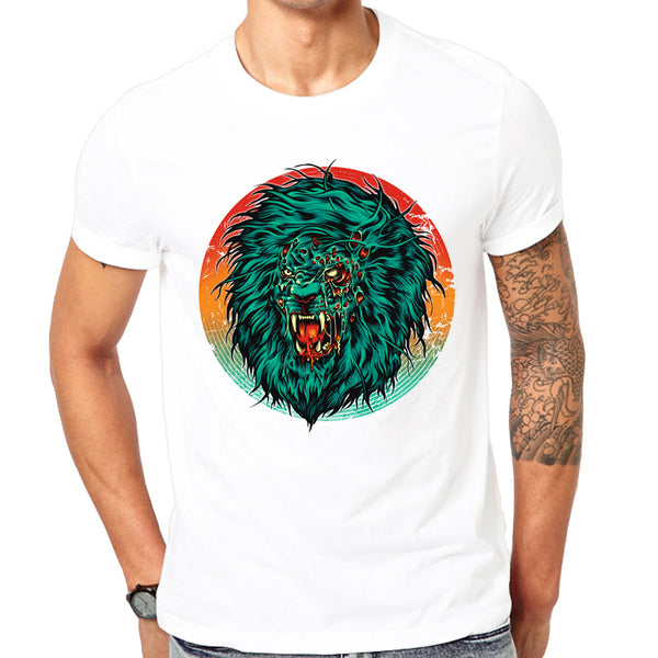 Fashion Graphic Tee - Zombie Lion