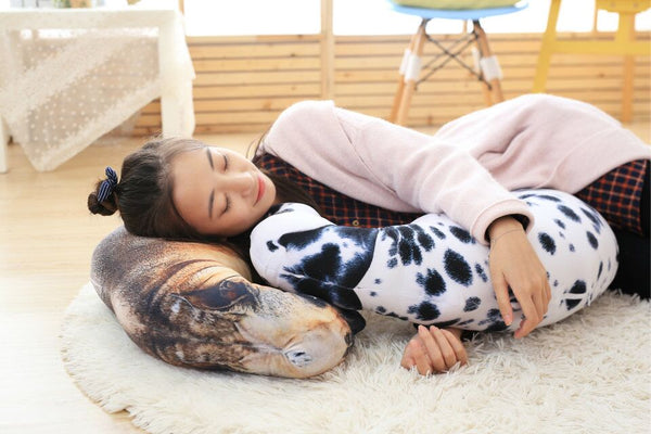 Large Throw Pillows for Dog Lovers - Sitting Dogs