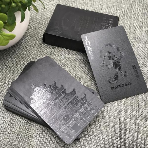 Playing Cards - Stylish Matt Black *3 Variants*