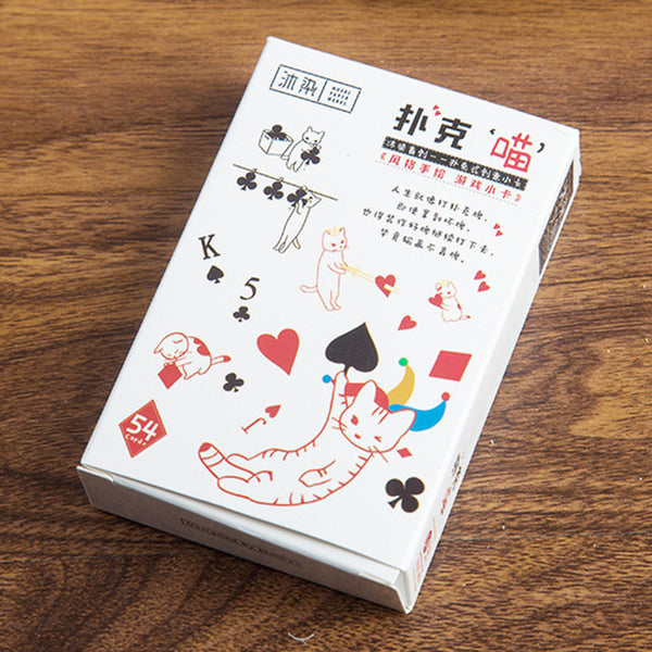 Playing Cards - Kawaii Cat Comics