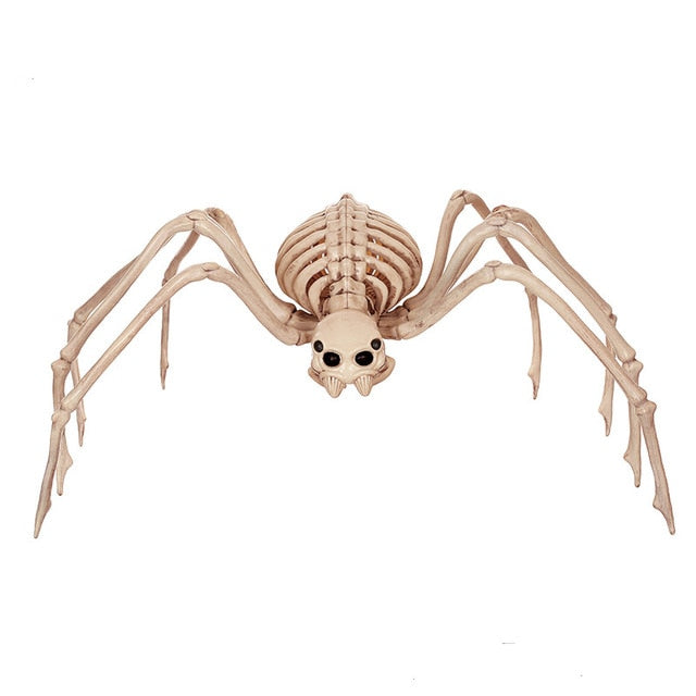 Giant Spider Movable Skeleton for Creepy Halloween Decoration