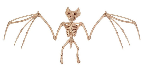 Big Vampire Bat Skeleton for Creepy Halloween Decoration