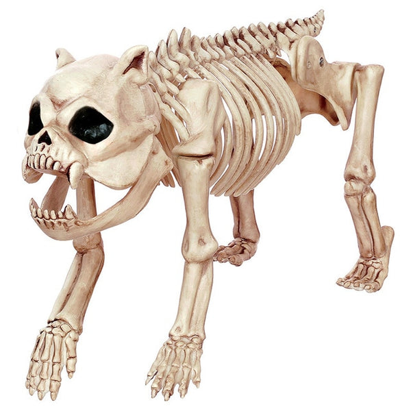 Devil Pug Skeleton for Creepy Halloween Decoration