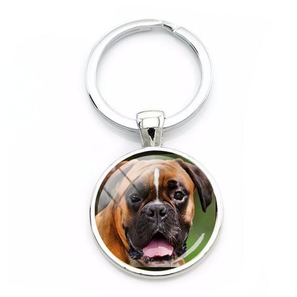 Key Chains for Dog Lovers - Realistic Dog Photos