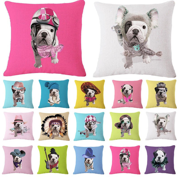 Cushion Covers for Dog Lovers - Fashionista Pups *14 Variants*