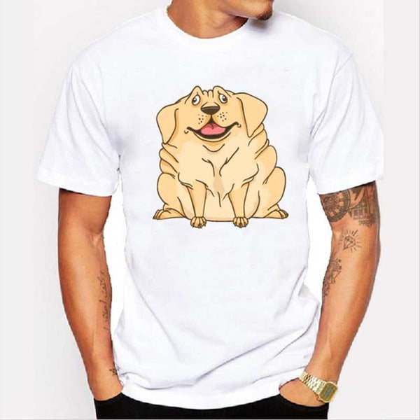 Graphic Tee for Dog Lovers - Jabba the Dog