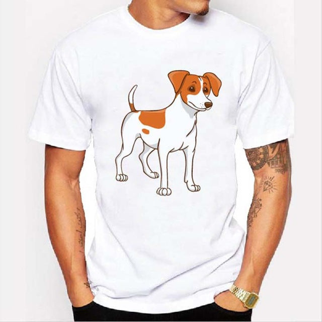Graphic Tee for Dog Lovers - Jack Russell