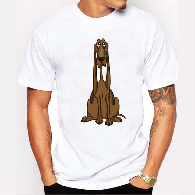 Graphic Tee for Dog Lovers - Blood Hound