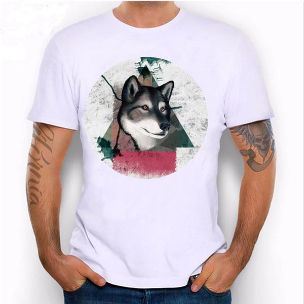 Fashion Graphic Tee - Wolf