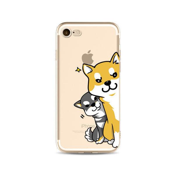 Illustrated Phone Cover for Dog Lovers - I See You