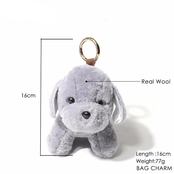 Key Chains for Dog Lovers - Plush Pups *5 Colors*