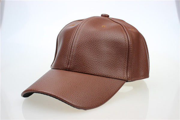 Classic Leather Cool Dad Caps *4 Colors*