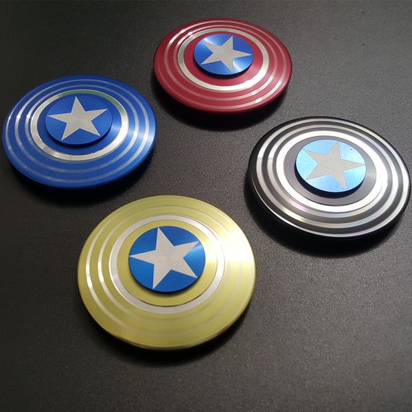 Captain America Shield Fidget Spinner *4 Colors*