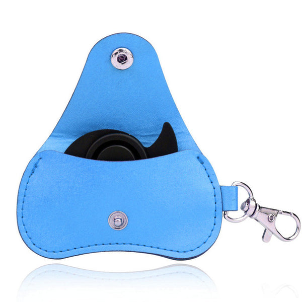 PU Leather Storage Bag for Duo-Spinners combo keychain *4 Colours*