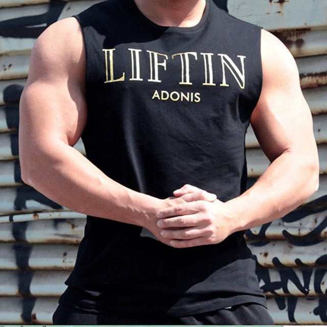 LIFTin Basic Fitness Tank Tops for Men