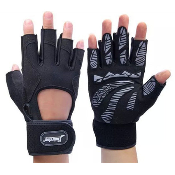 Modern Strips Protective Gym Gloves