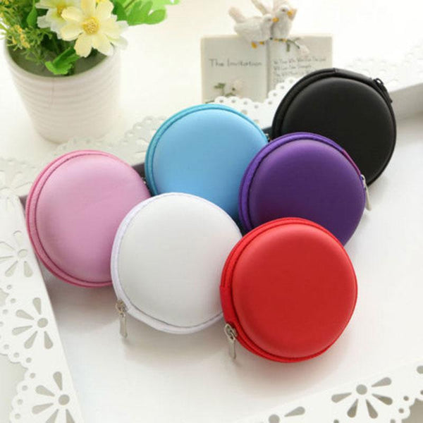 Must-have ROUND Storage Bag for Fidget Spinners/ Ear phone *Random Color*