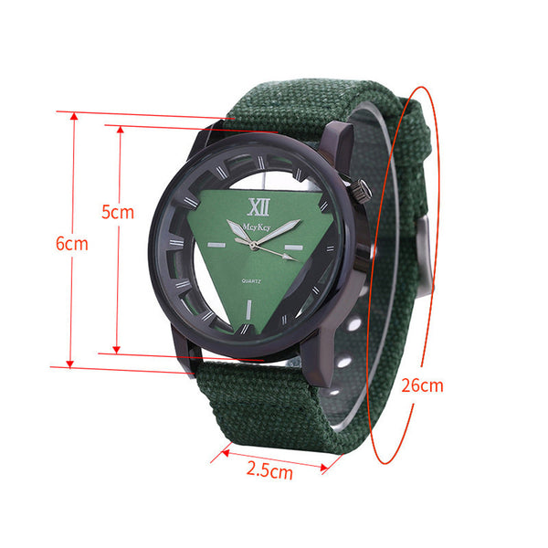 Power Triangle Military Watch for Men *6 Colors*