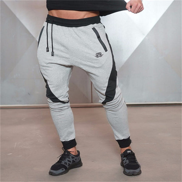 Bold Line Sweatpants for Bodybuilding Man