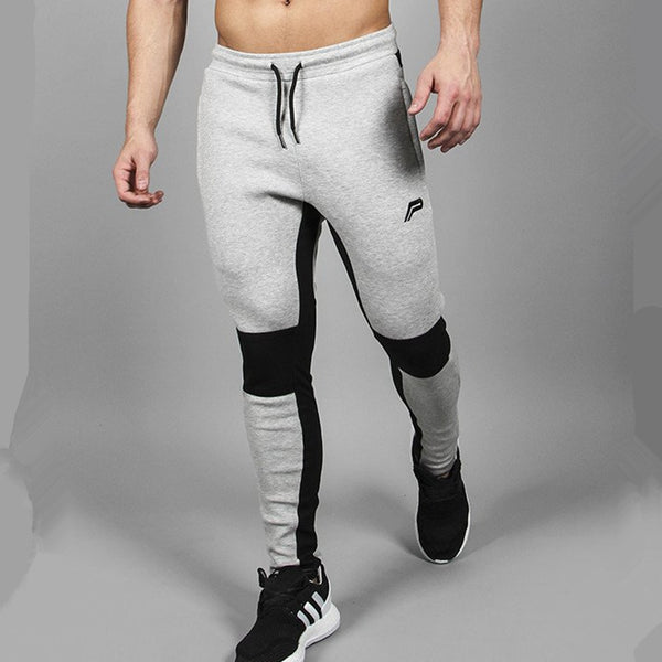 Modern Two-tones Fitness Sweatpants for Men *2 Variants*