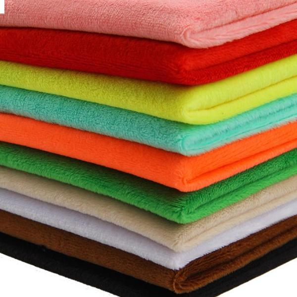 Extra Soft Plush Fabric to Make Plush Toys *Pre-cut Fabric* 10pcs/lot *30x30cm*