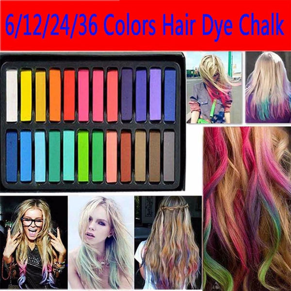 Hair pastel / Chalk *6/12/24/36 colors set*