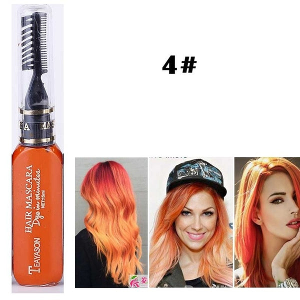 Unique Mascara Hair Dye *13 colors*