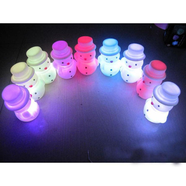 Cute Snowman Shaped LED Light