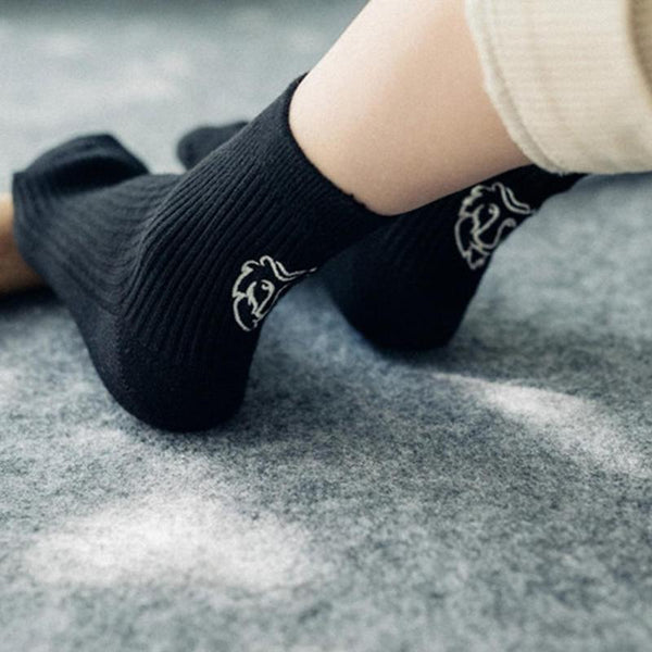 Simply Glow At Night Luminous Constellation Icon Socks
