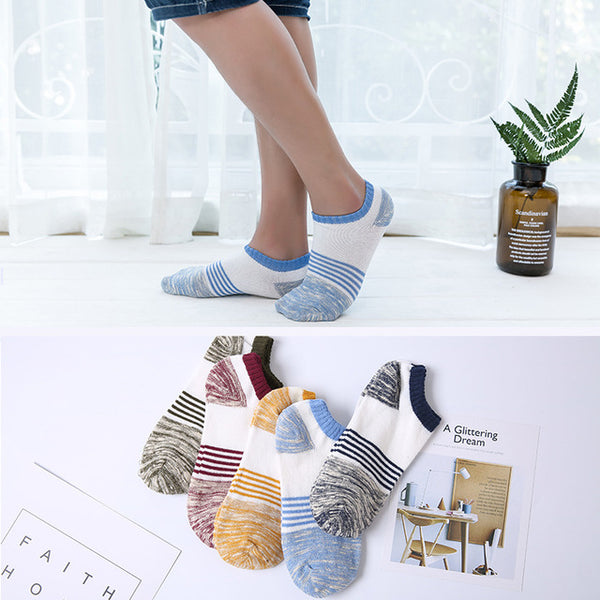 Classic Comfortable Ankle Socks For Men *BUY 3 FREE 2*
